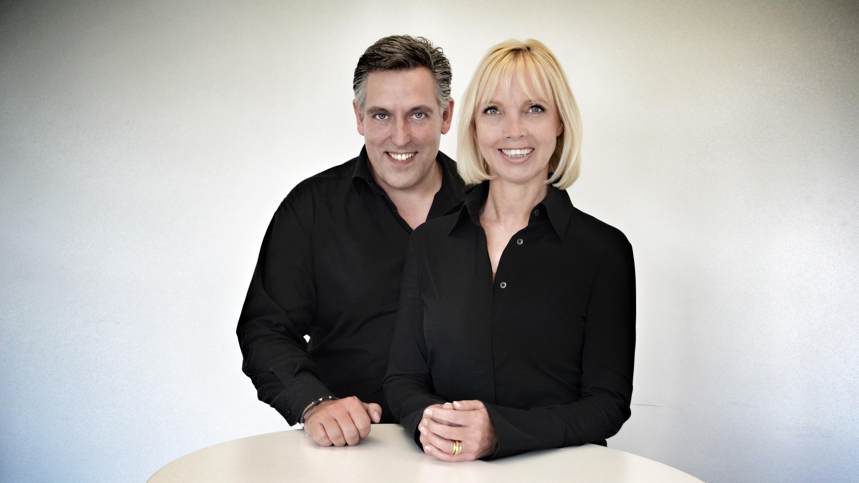 Alexander Schmitt und Silke Wiegmann von Global Homing in Frankfurt