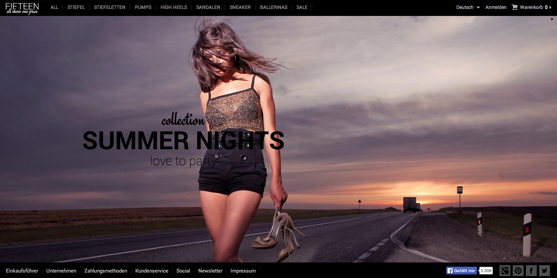 fifteen.de Online-Shop