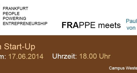 FRAppe-Treffen zum Thema Lean Start-Up am 17.6. in Frankfurt