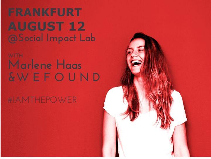 So wird Frau erfolgreich – WEFOUND-Workshop im Social Impact Lab Frankfurt am 12.8.2014