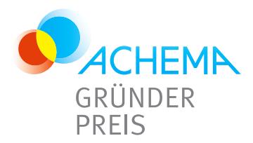 Gewinner des ACHEMA-Gründerpreises stehen fest – Gesamtsieger werden am 15. Juni bekanntgegeben