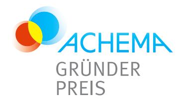Achema Gründerpreis