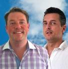 Marc Ebel und Rainer Dahlmann von DataDropper