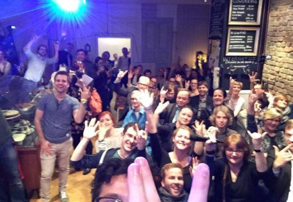 100 Gäste, 7 Startups, 1 Sieger-Team – das war der 1. Startup Slam Wiesbaden