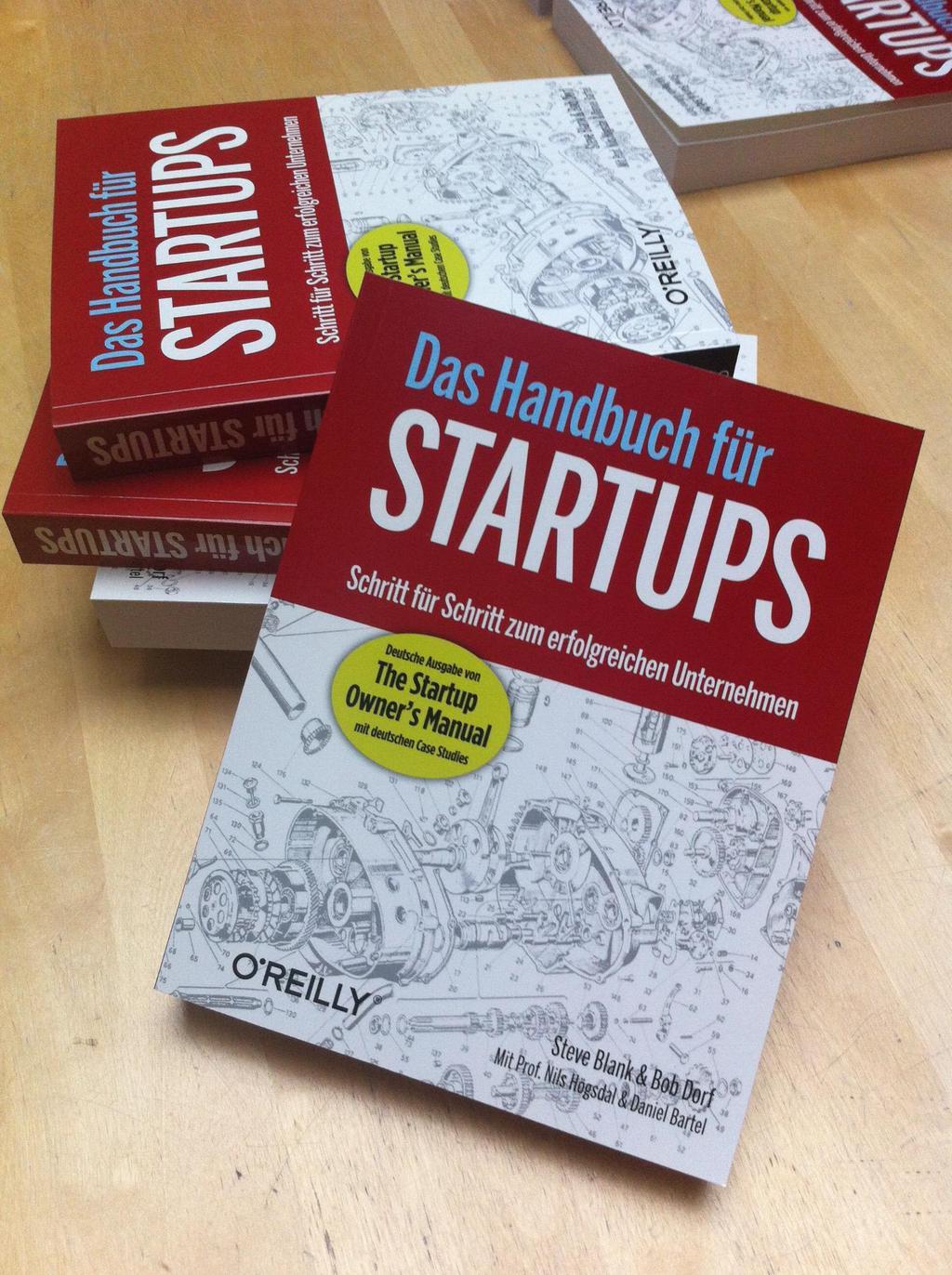 Verlosung: Das Handbuch für Startups