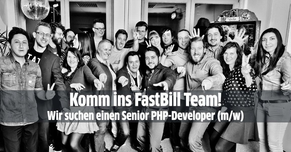 Das FastBill-Team sucht einen Senior PHP-Developer (m/w)