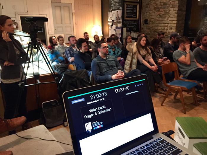 """Donnerstalk"" am 2. April 2015: Lean E-Commerce und Web-Analytics"