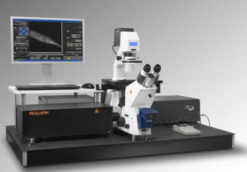 CellSurgeon Lasersystem von LLS Rowiak, eine Kombination aus hochauflösender Bildgebung und ultrapräzisem Laserschneiden.