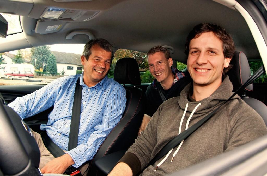 Der flinc-Vorstand freut sich über neues Kapital und Kooperationen (links nach rechts): Klaus Dibbern, Michael Hübl und Benjamin Kirschner