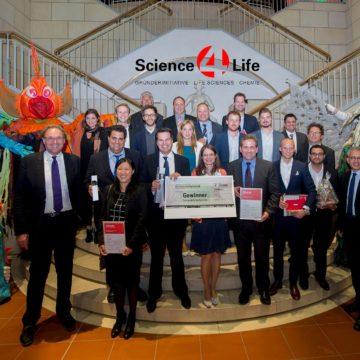 Teilnehmerrekord beim Science4Life Venture Cup 2015 und ein zweiter Platz für Darmstädter Innovation
