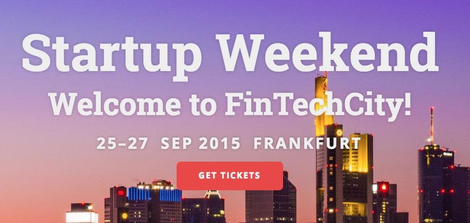 Kommendes Wochenende: Startup Weekend Frankfurt