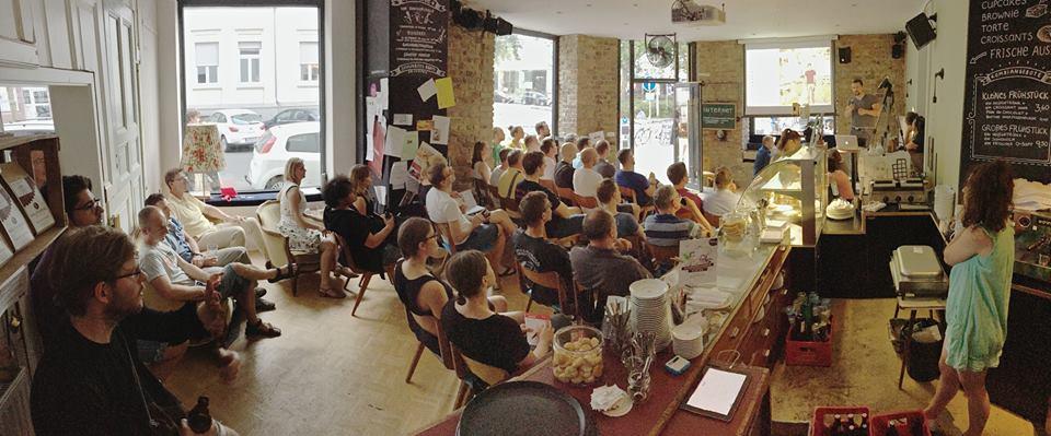 Donnerstalk  im heimathafen Wiesbaden am 6.8.2015: 3D-Druck & MakerSpaces