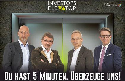 Investors Elevator am 13. November