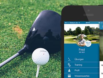 Neue App von Full Control unterstützt Golfer ihr Spiel zu verbessern