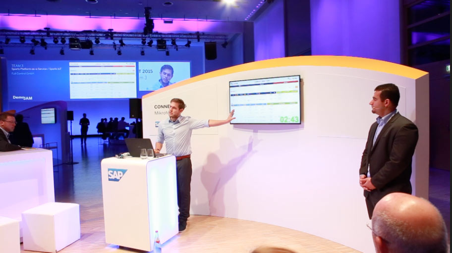 Full Control als einziges Startup bei SAP Connect DemoJam