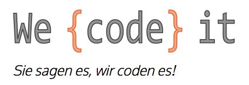Neues Start-Up aus Obertshausen – We {code} it