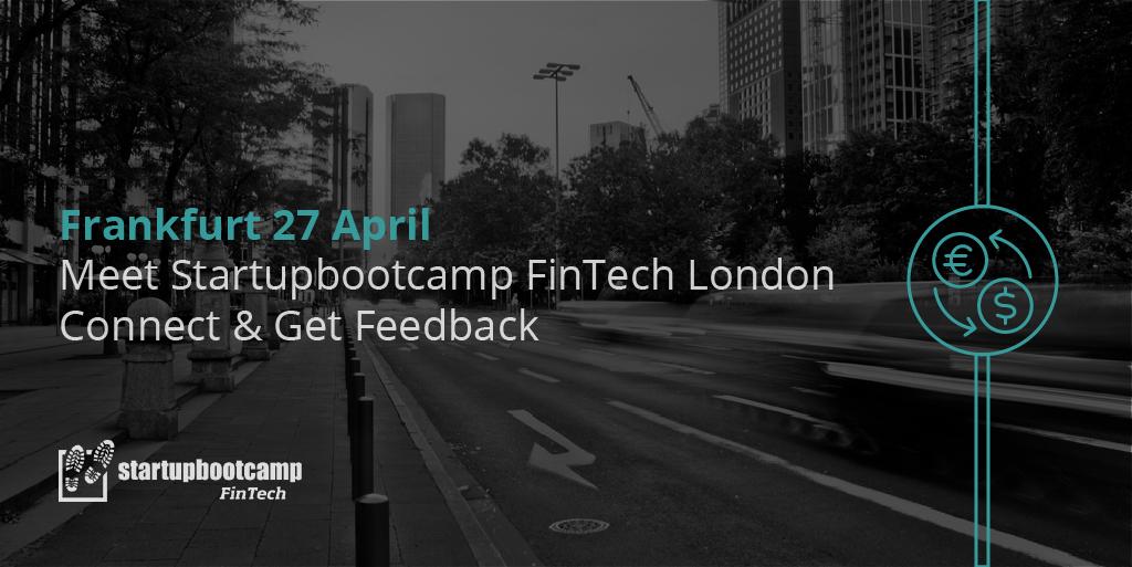 Meet Startupbootcamp FinTech in Frankfurt – apply now!