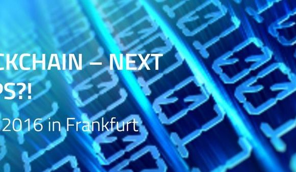 "Between the Towers am 4. Oktober 2016 zum Thema ""Blockchain – next steps?!"
