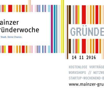 Die erste Mainzer Gründerwoche