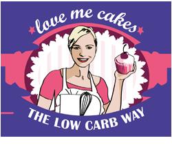 Logo love me cakes