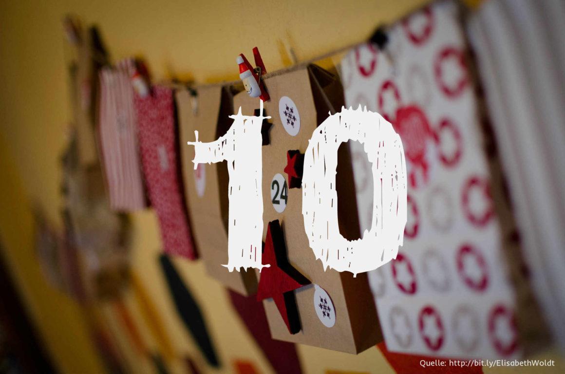Startup-Adventskalender: das 10. Türchen
