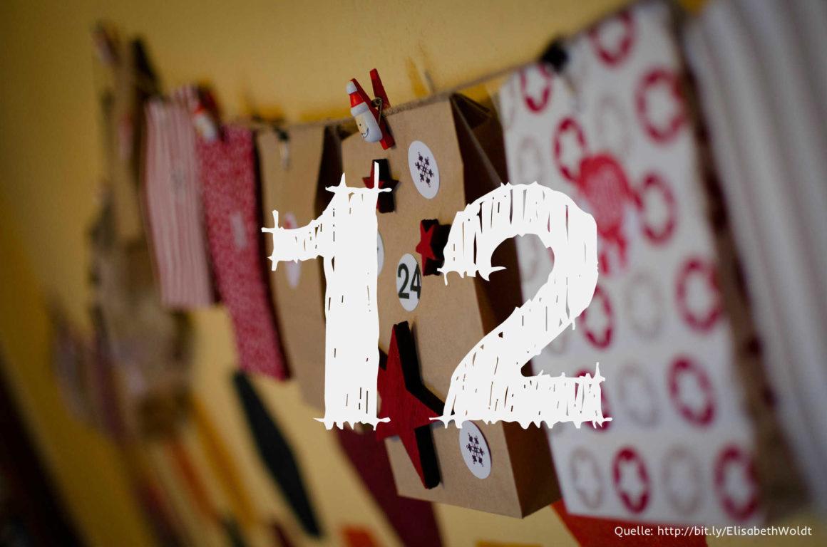 Startup-Adventskalender: das 12. Türchen