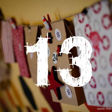 Startup-Adventskalender: das 13. Türchen