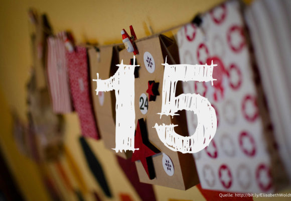 Startup-Adventskalender: das 15. Türchen