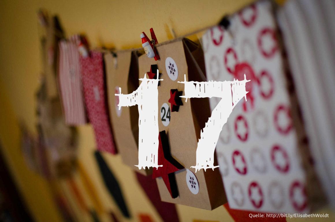 Startup-Adventskalender: das 17. Türchen