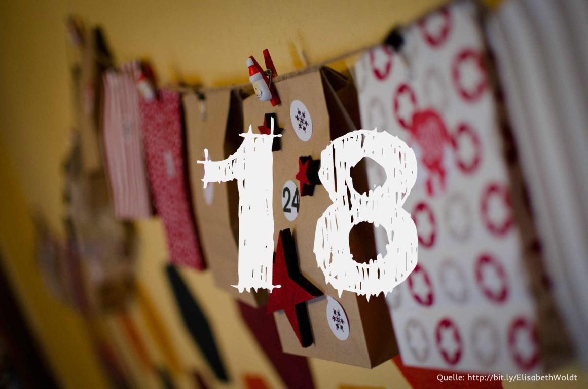 Startup-Adventskalender: das 18. Türchen