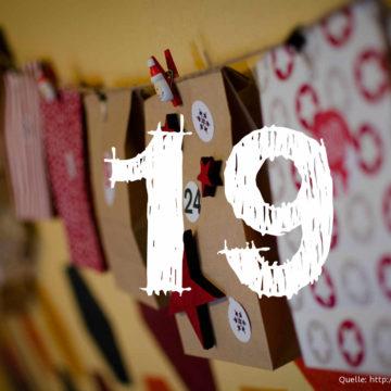 Startup-Adventskalender: das 19. Türchen