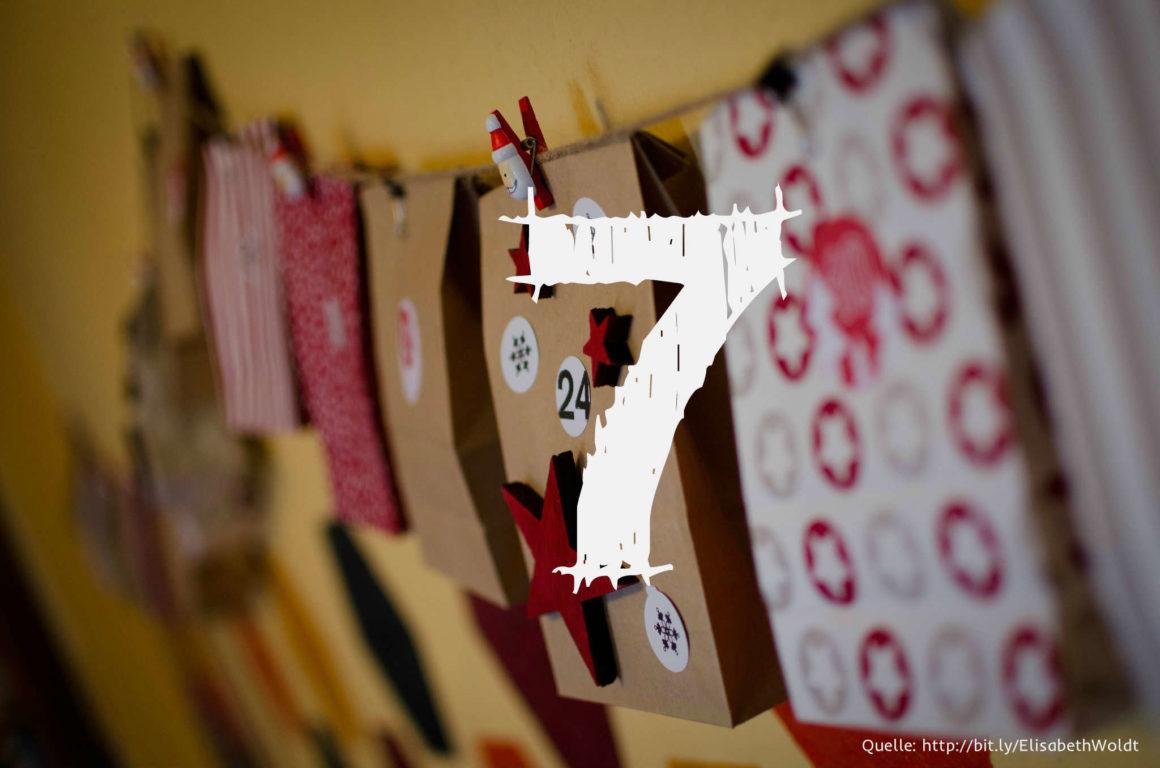 Startup-Adventskalender: das 7. Türchen
