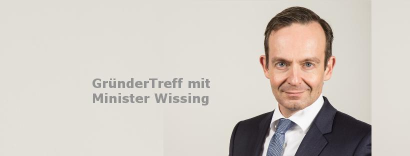 GründerTreff mit Minister Dr. Wissing