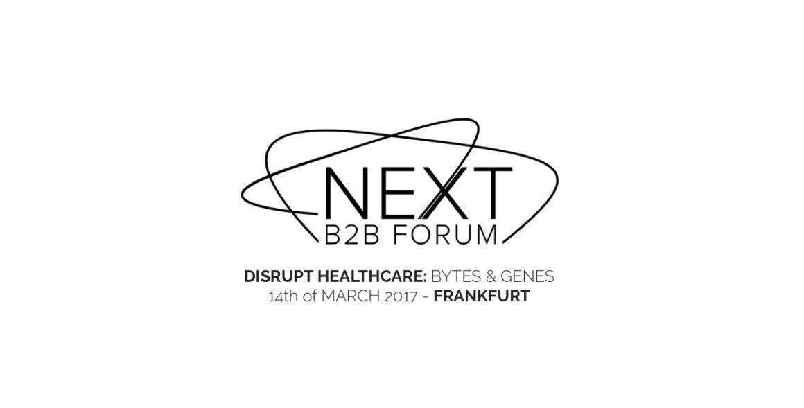 Event mit Philipp Rösler: NEXT B2B FORUM – Bytes&Genes