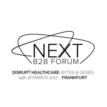 Event mit Philipp Rösler: NEXT B2B FORUM – Bytes&Genes