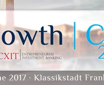 GrowthCon 2017 in Frankfurt