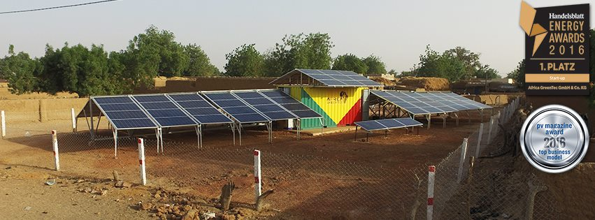 africa green tec Solarcontainer