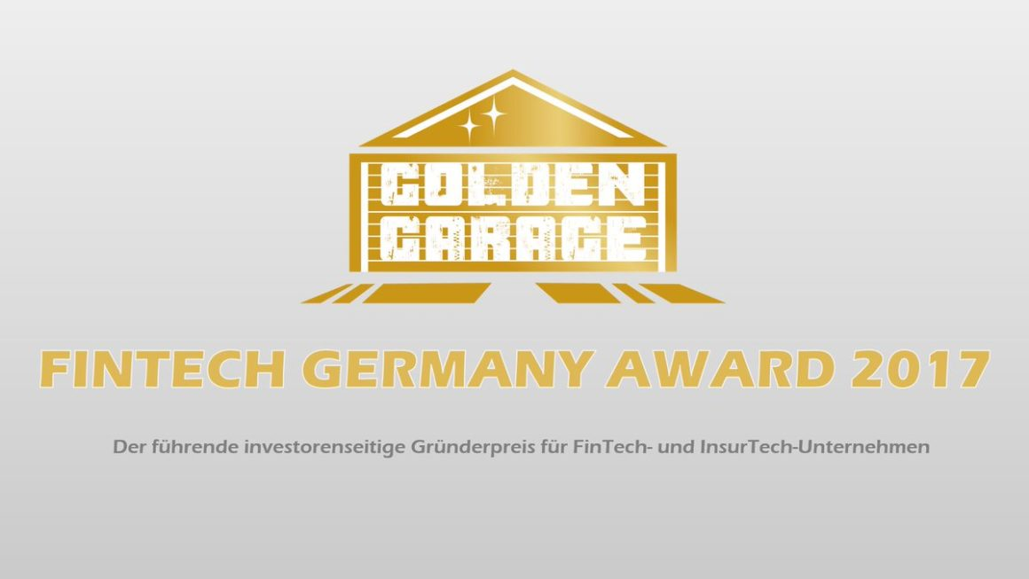 And the FinTechGermany-Award 2017 goes to…