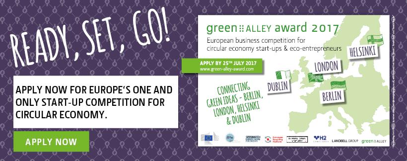 Green Alley Award – Circular Economy als Chance für Gründer