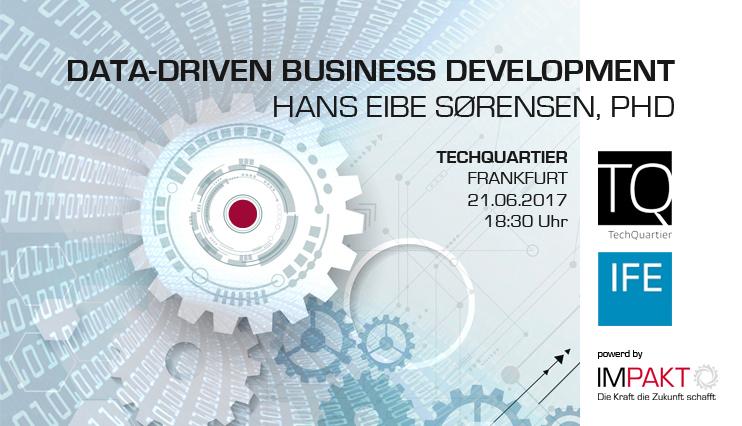 Data-Driven Business Development: Expert Hans Eibe Sørensen visits Frankfurt