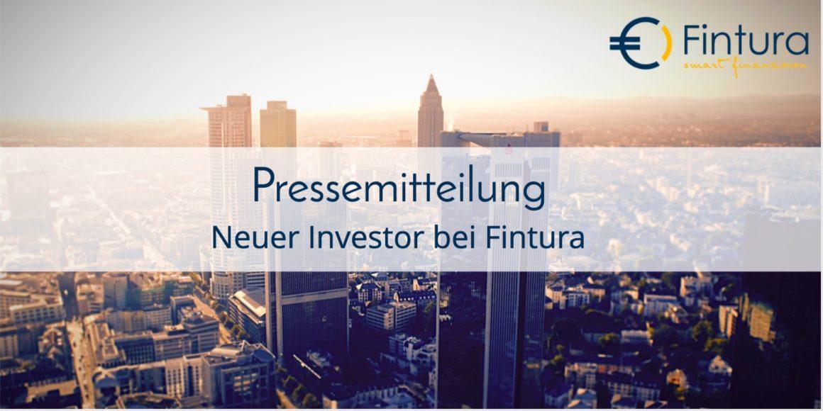 Neuer Investor – Sebastian Pape steigt bei Fintura ein