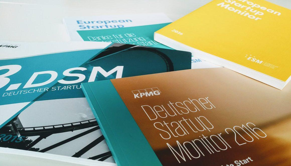 5. Deutscher Startup Monitor – positioniert Eure Anliegen und macht unsere Region sichtbar