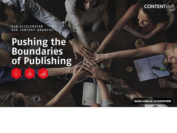 Content-Start-up des Jahres gesucht: Das sind die fünf Finalisten von CONTENTshift 2017
