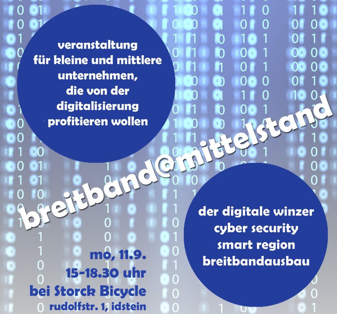 """""""Breitband@Mittelstand"""" bei Storck Bicycle in Idstein"""
