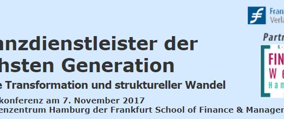 Die Finanzdienstleister der nächsten Generation in der FinTechWeek in Hamburg