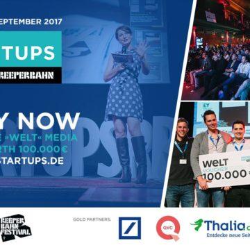 Bewerbt Euch jetzt für den Startups@Reeperbahn Pitch!