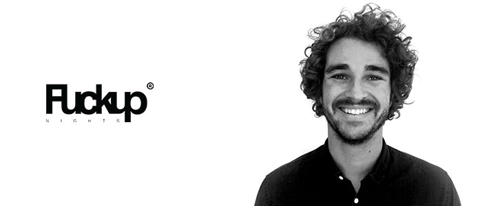 Yannick Kwik, weltweiter CEO der FuckUp Nights-Bewegung, kommt am 5. Oktober nach Frankfurt