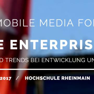 10. Mobile Media Forum in Wiesbaden