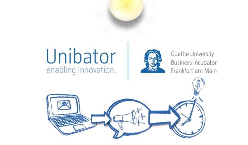 Die neuen Teams im Goethe Unibator