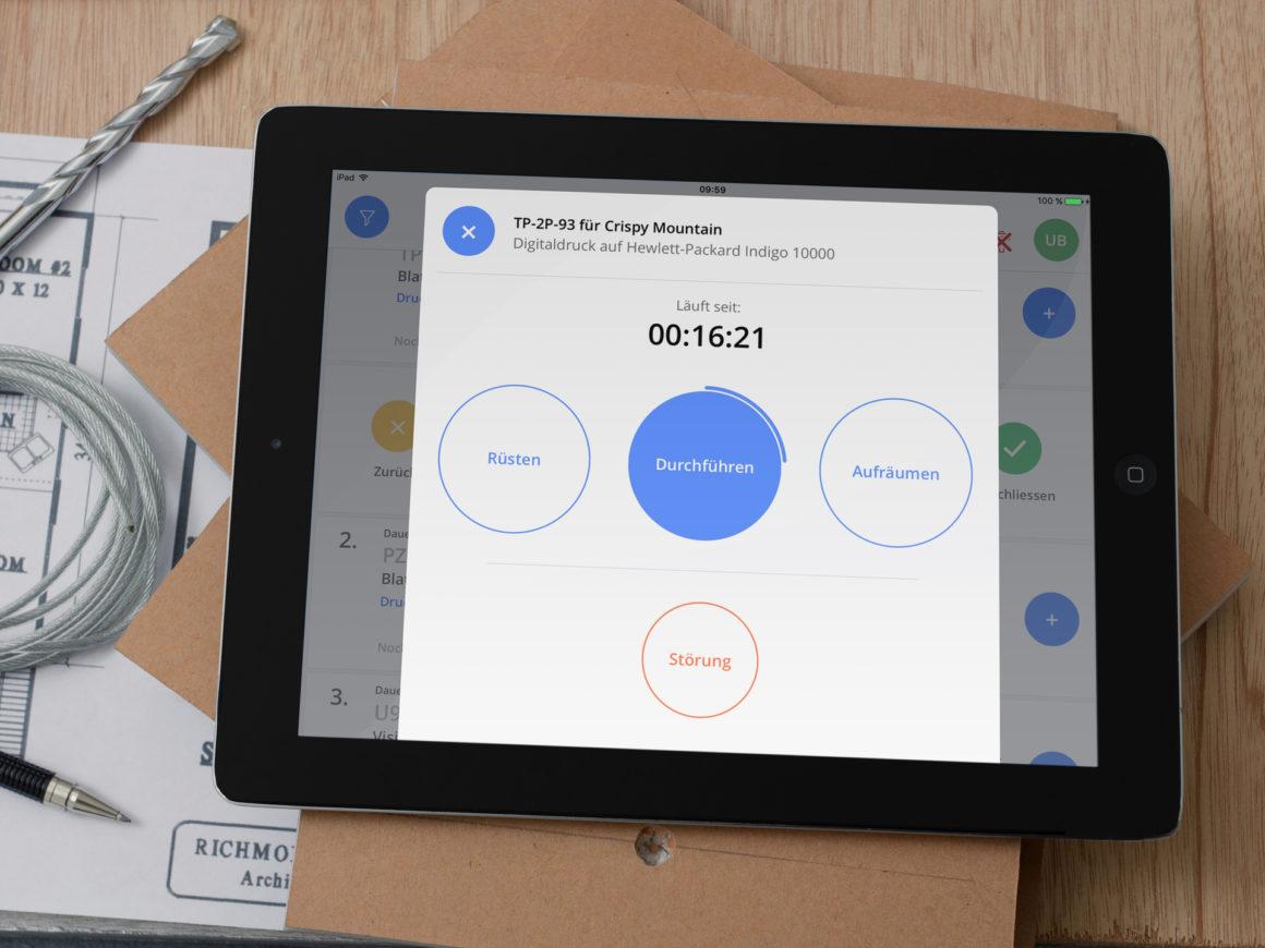 Mainzer Sofware Studio Crispy Mountain mit neuer iPad App-Version für Produktion und Logistik